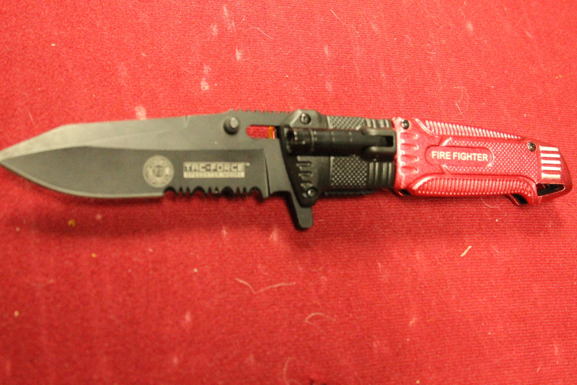 Tac Force Fire Fighter Linerlock A/O $9.99