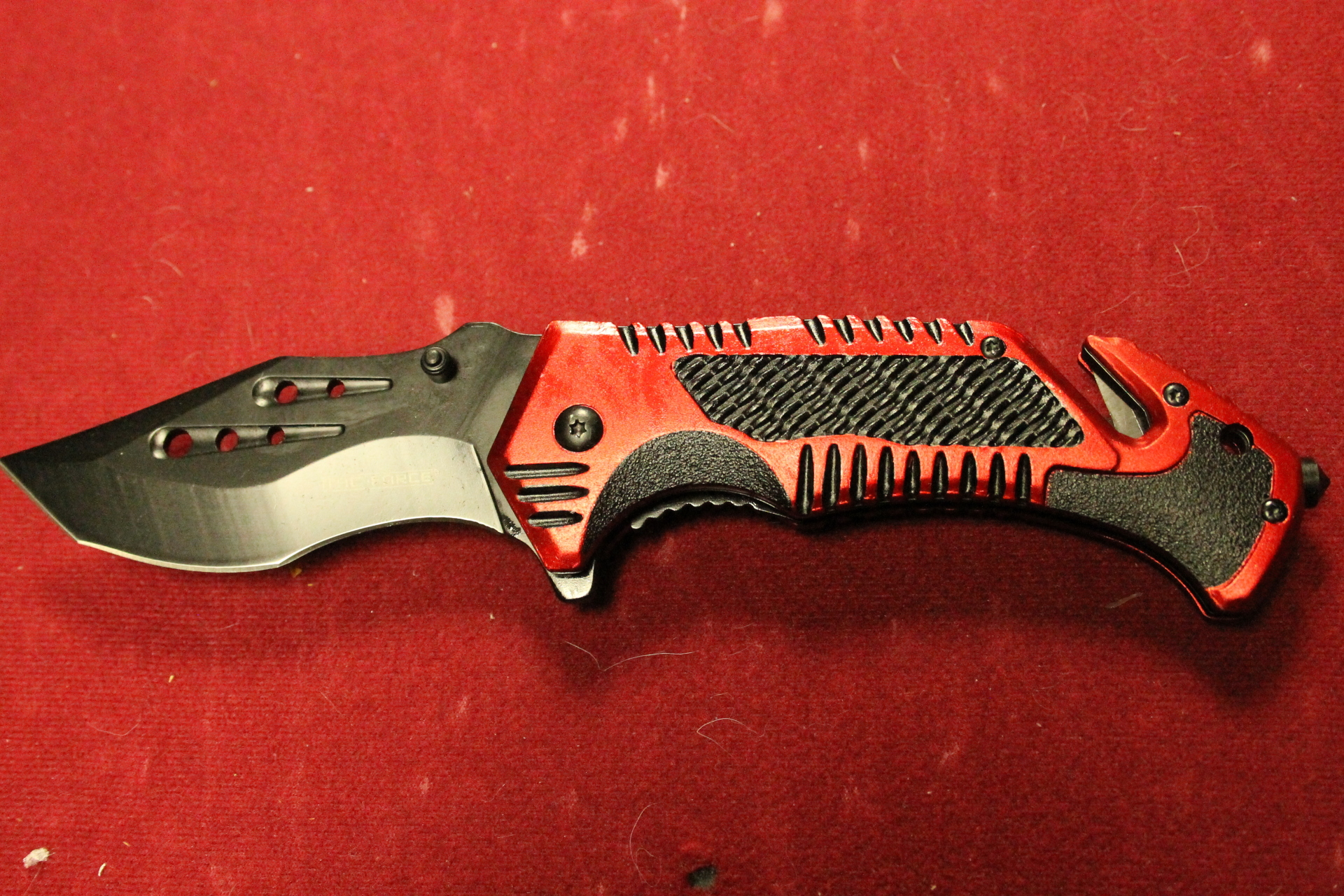 Tac Force Linerlock Red  $9.99