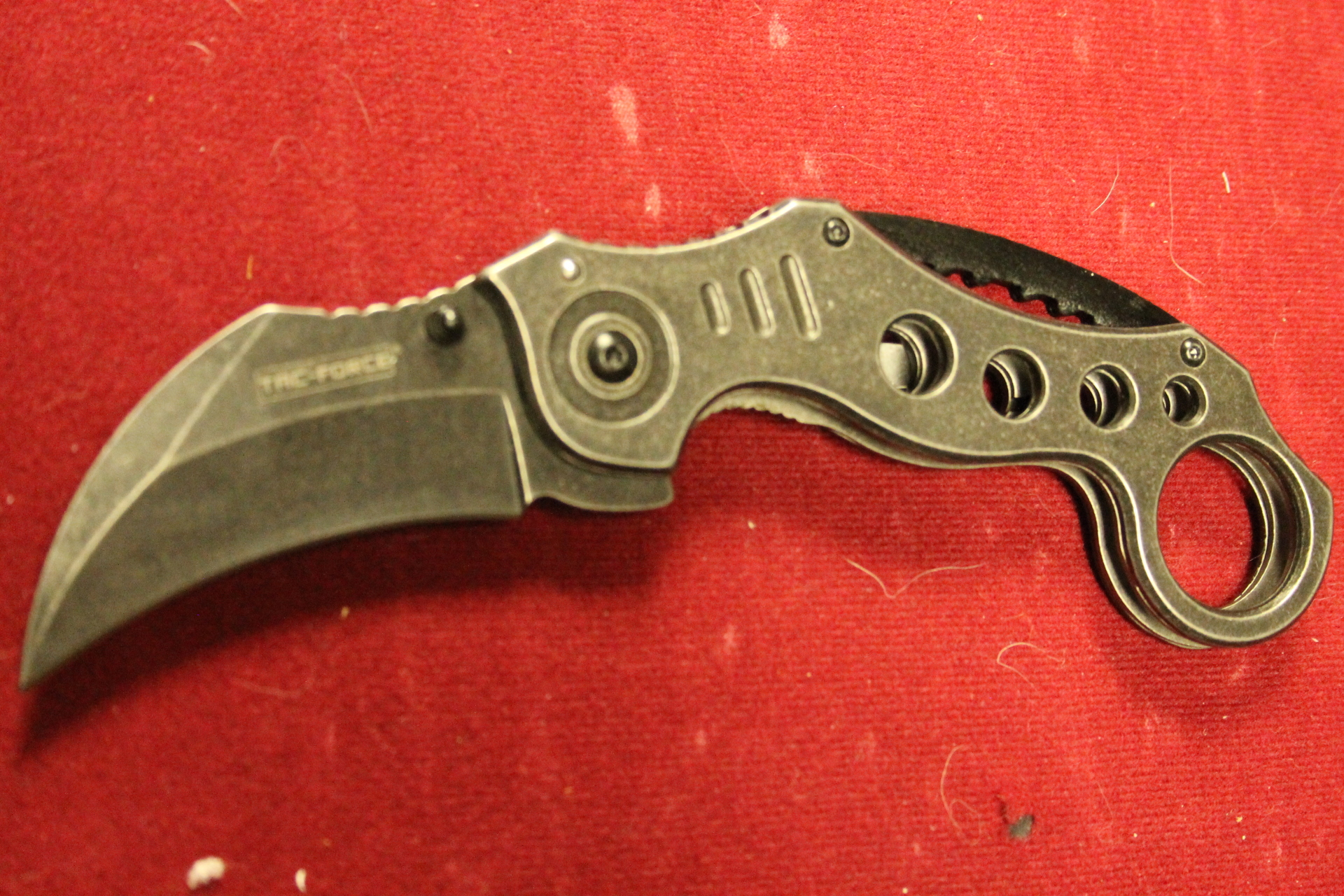 Tac Force Karambit Black SW $9.99