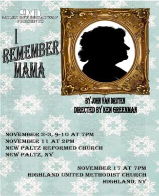 I Remember Mama November 2012