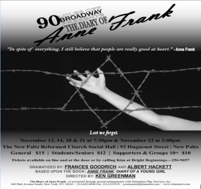 Anne Frank November 2015