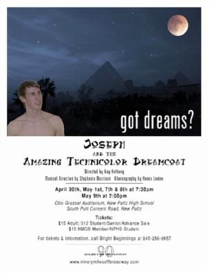 Joseph and the Amazing Technicolor Dream Coat April 2010