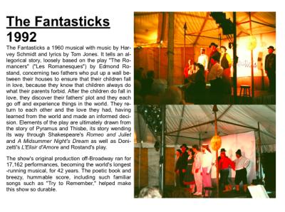 The Fantastics 1992