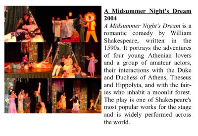 A Midsummers Night Dream  200