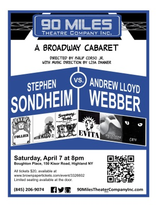 Sondheim vs. Webber Cabaret April 2018