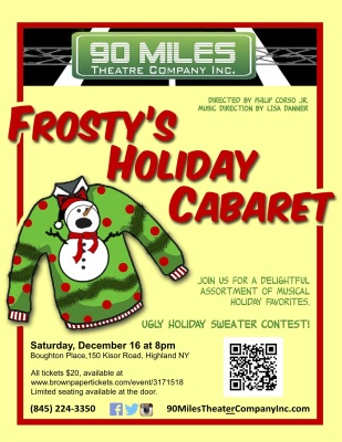 Frosty's Holiday Cabaret