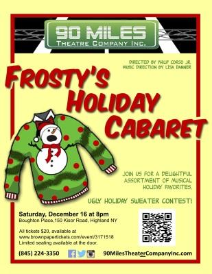Frosty's Holiday Cabaret