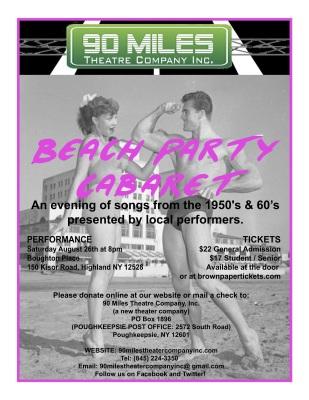Beach Party Cabaret
