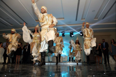 Middle Eastern  traditional Zaffa for weddings