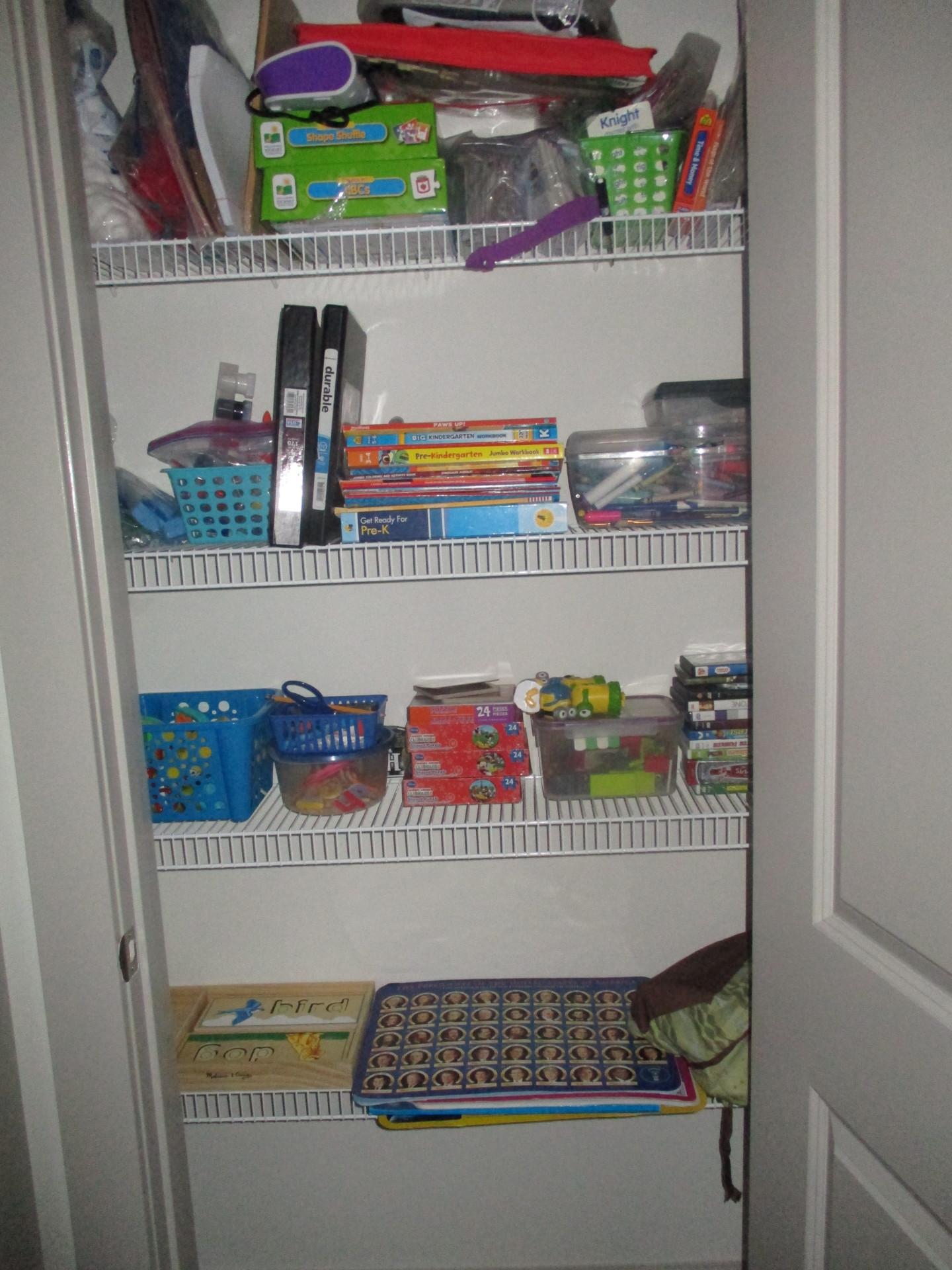 my home school closet