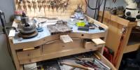 bussy workbench at maf goldsmith