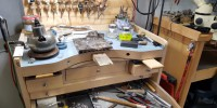 bussy workbench at maf goldsmith