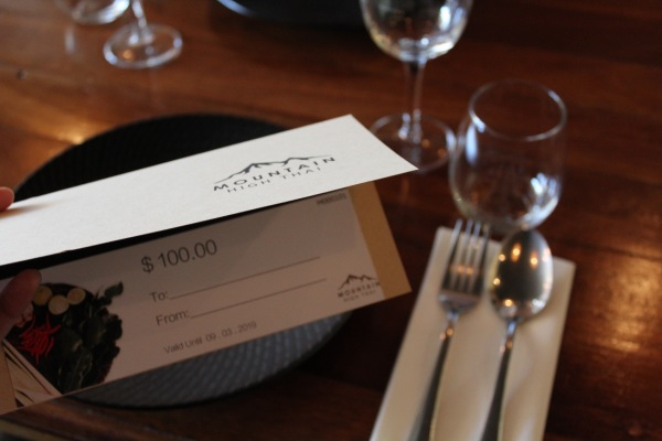 Our Gift Voucher