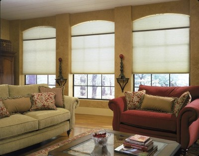 blinds, shades, verticals, window coverings, honeycomb shade, cell shade