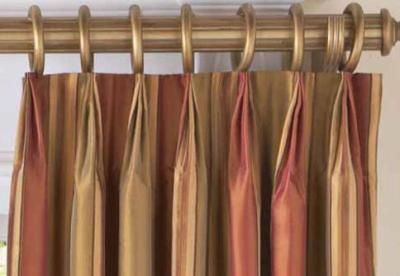 pinch pleat, drapes, panels