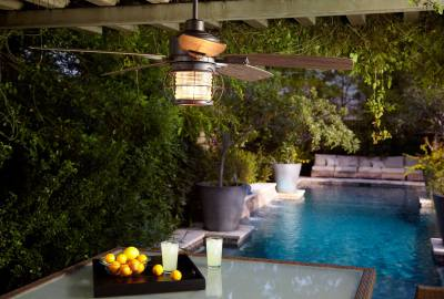 exterior lights, ceiling fans, lighting, wall sconce