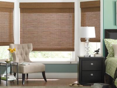 woven wood shade, shades
