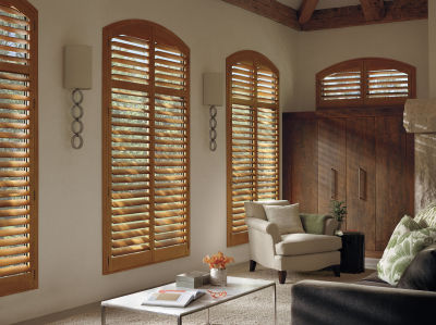 stained shutters, shutters