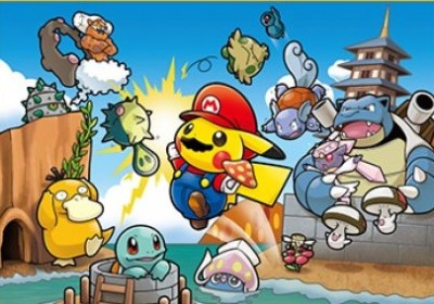 Pokémon / Mario crossover merchandise coming to Japan