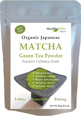 Japanese Organic Matcha Green Tea - Premium Culinary Grade - 60 grams