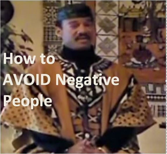 How to AVOID Negative People - Pt 1