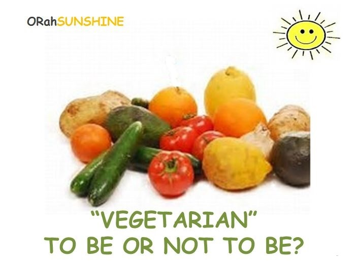 Questions & Answers VEGETARIAN To Be or Not to Be