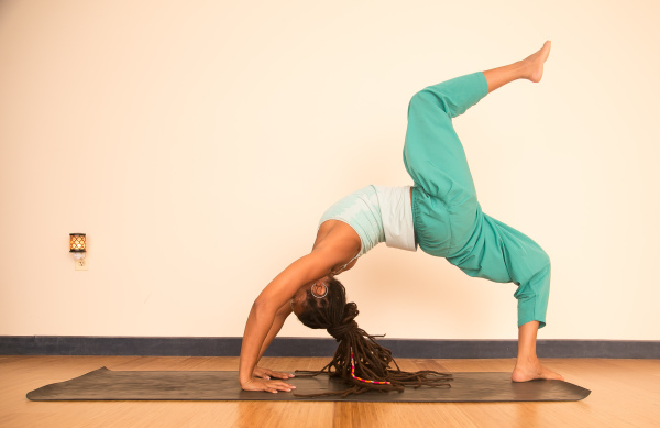 Wheel Pose, a Rainbow Bridge