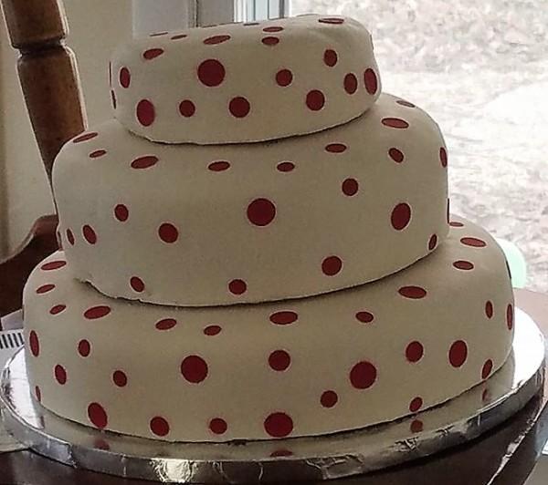 3 Tier Red Velvet Cake