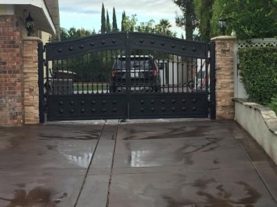 yorba linda gate after