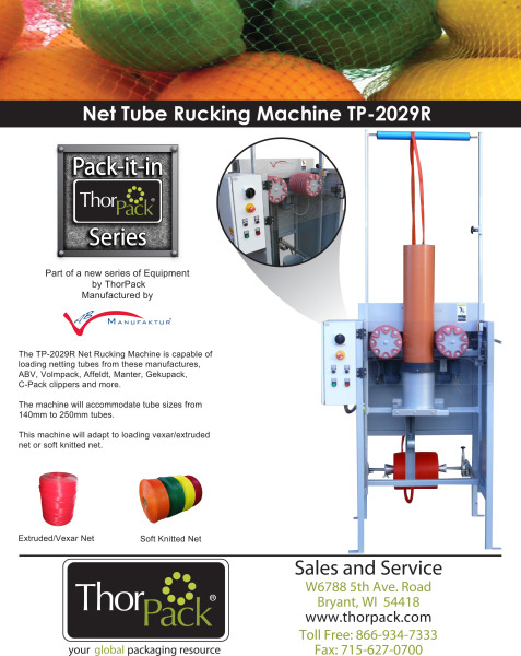 Net Rucking Machine