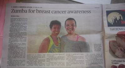 Zumba for Breast Cancer Awareness