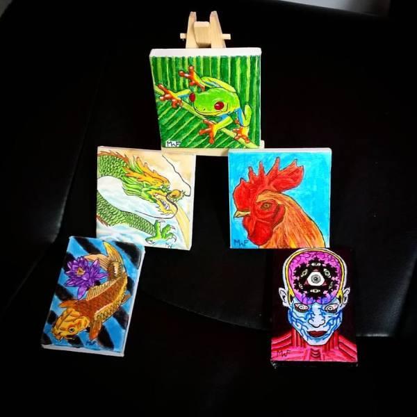 Mini Canvases
