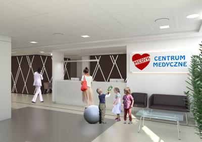 Rzeszów -koncepcja przychodni Medyk