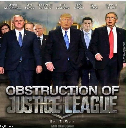 Obstruction of Justice League