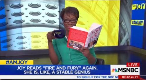 "Joy Reid Mocks Trump's: ""I'm, Like, A Smart Person Comment"