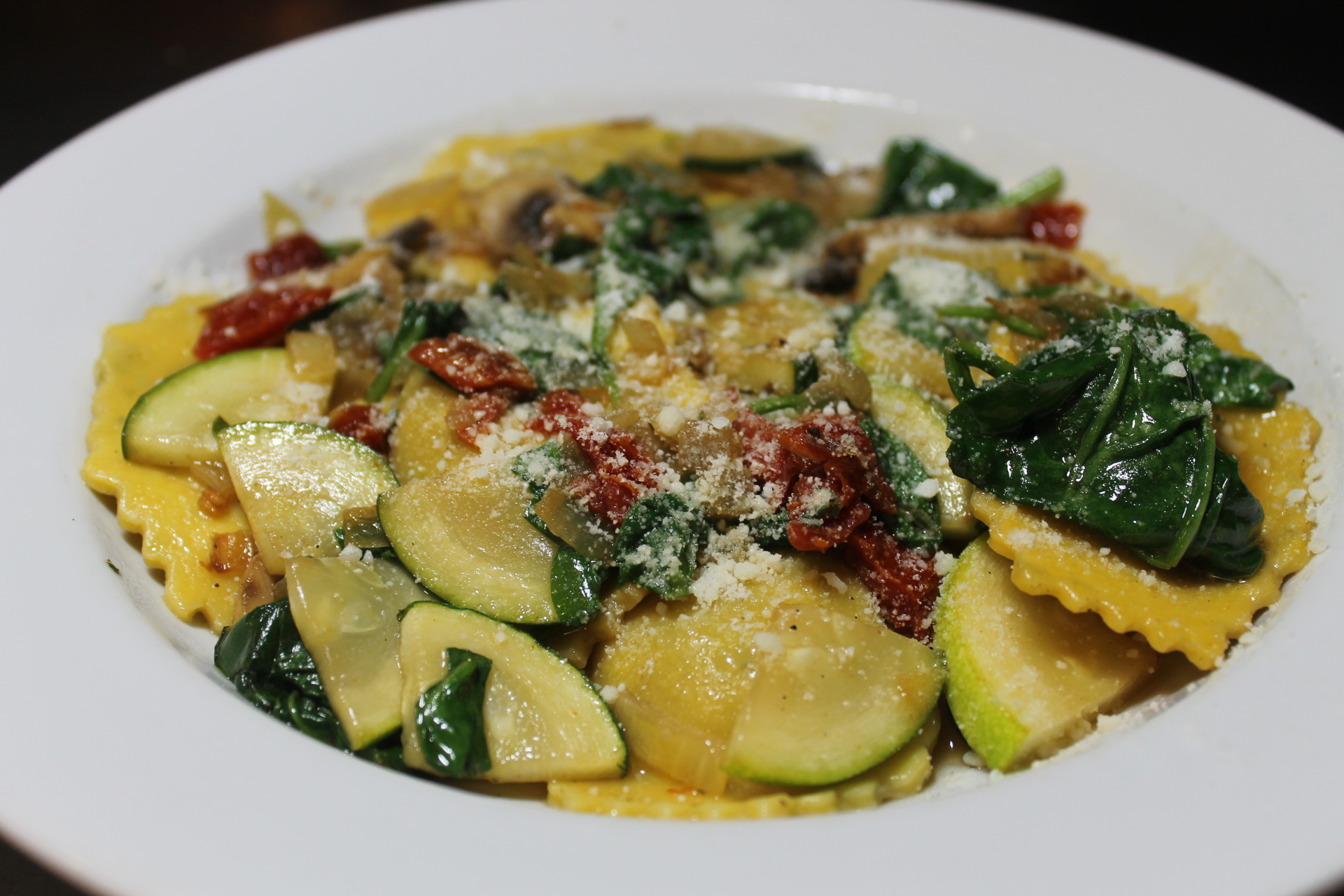 Grilled Vegetable Ravioli Alla Giuseppe