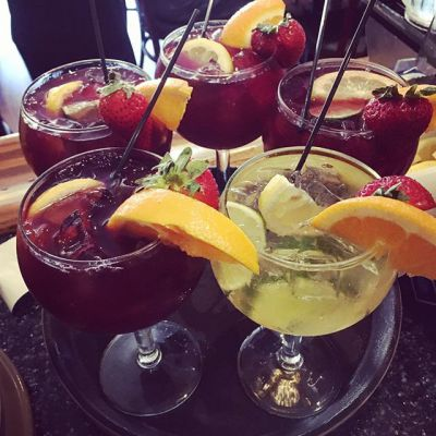 Red and White Sangrias