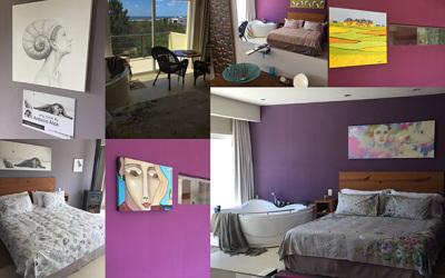 Nuevas Arty Rooms en Hoteles de la Viuda - José Ignacio by Galería los Caracoles.