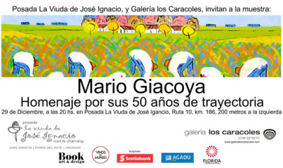 Mario Giacoya - Homenaje 50 años de trayectoria en Posada La Viuda de José Ignacio.