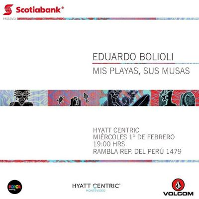 Muestra Eduardo Bolioli en Hyatt Centric Montevideo