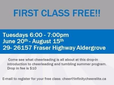 Cheer & Tumble Class