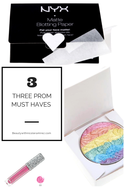 3 Must Have Prom Makeup Products