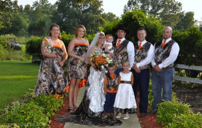 Redneck Wedding, Camo Wedding