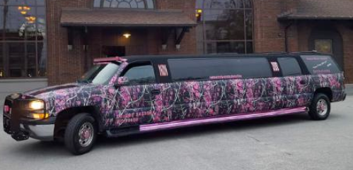 The Muddy Girlz Limousine