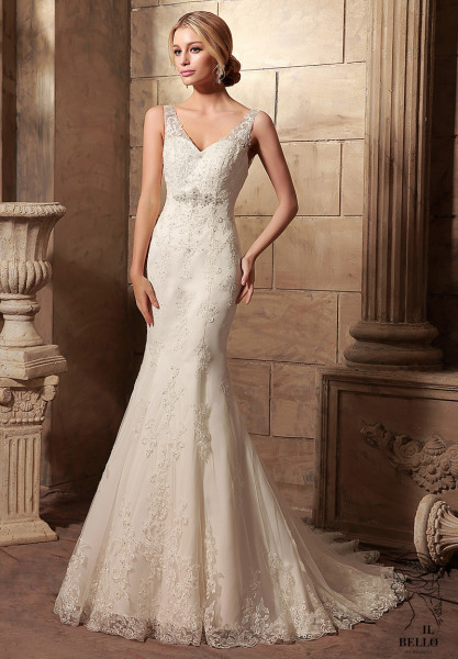Sweetheart Fit And Fare Wedding Gown
