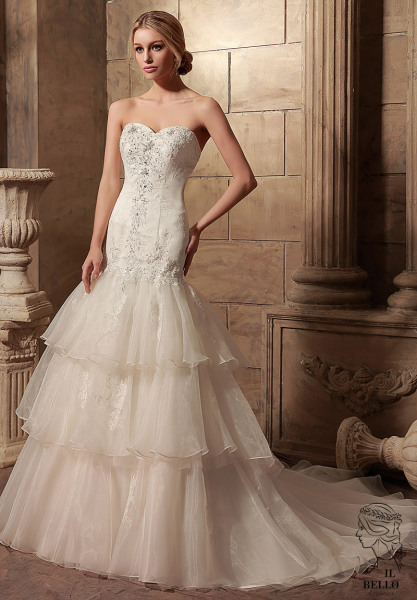 Organza Wedding Gown