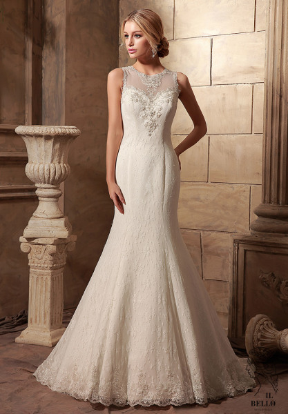 Mermaid Lace Wedding Gown