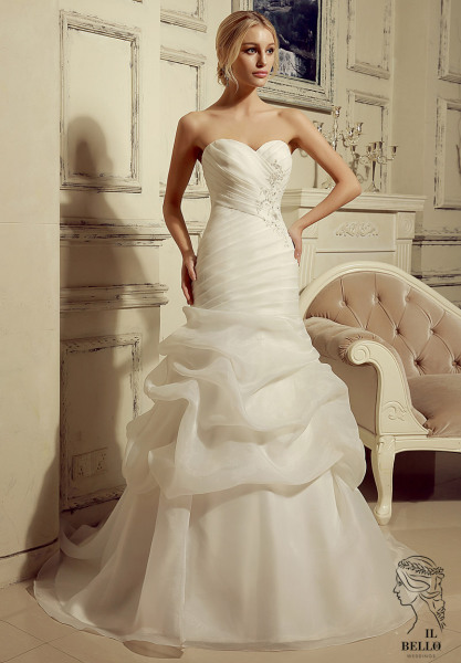 Sweetheart Mermaid Wedding Gown