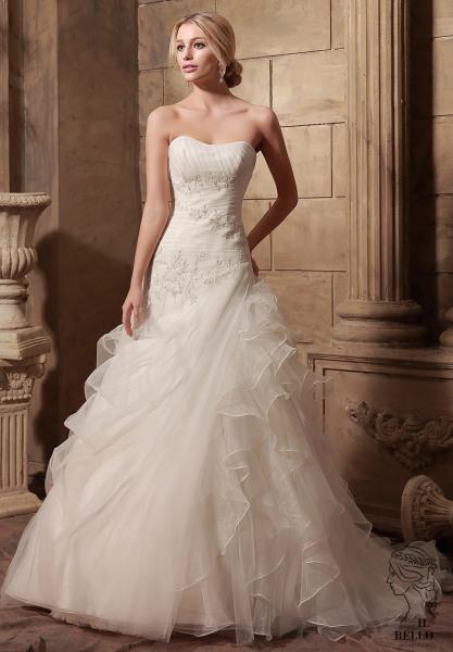 Ruffles Wedding Gown