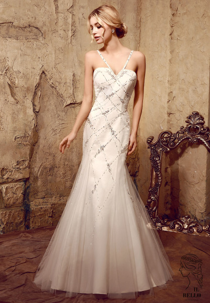 Sweetheart Fit and Fare Wedding Dress